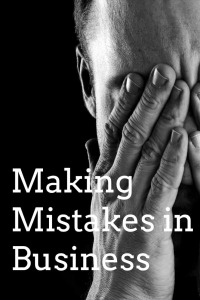 Whether you're the business owner, manager or team member, it's easy to make mistakes. We all make them. All the time.  The question then isn't really whether or not we've made mistakes—but how we've handled them once we've made them. In business, making mistakes can actually be beneficial.