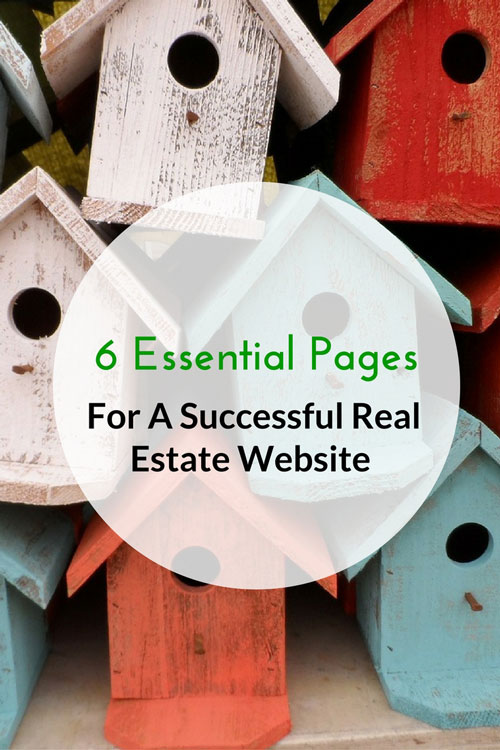 6 Essential Pages For A Successful Real Estate Website