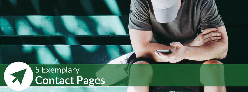 5 Examples of Effective Contact Pages