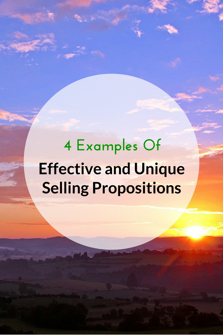4 Examples Of Effective And Unique Selling Propositions