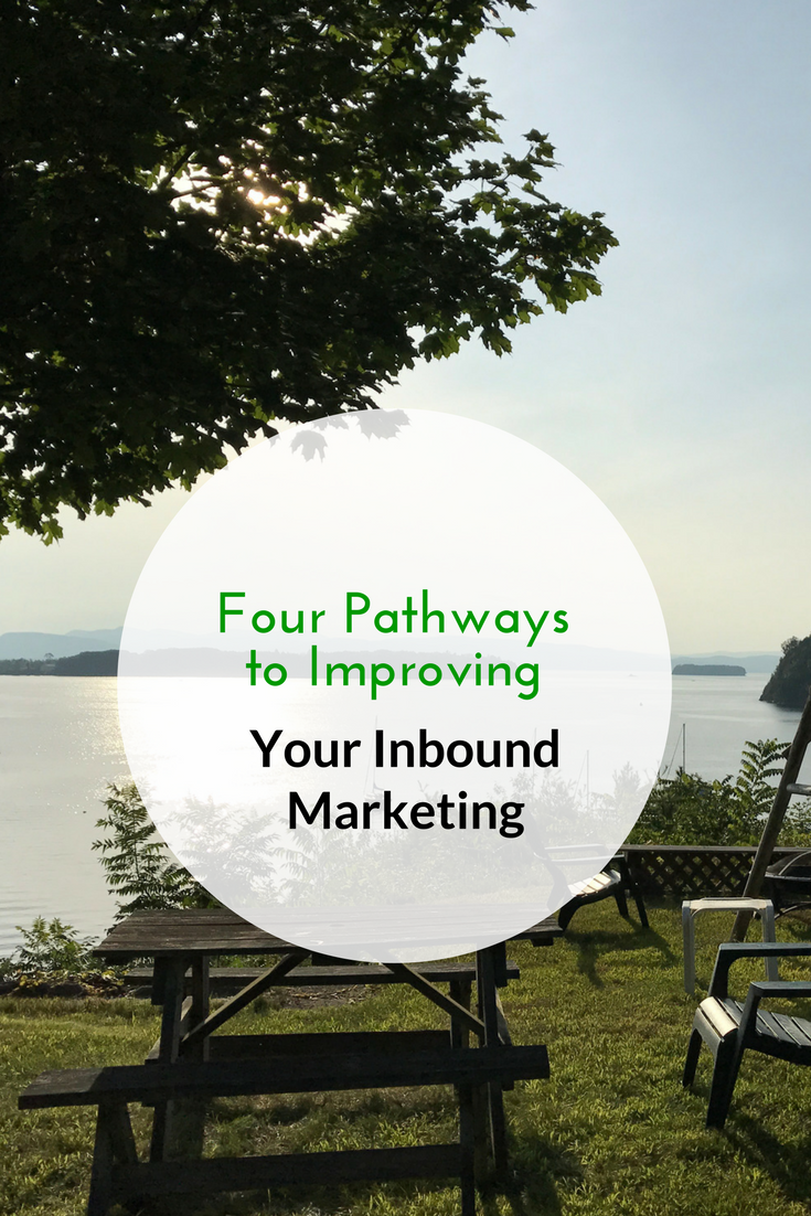Four Pathways to Improving Your Inbound Marketing