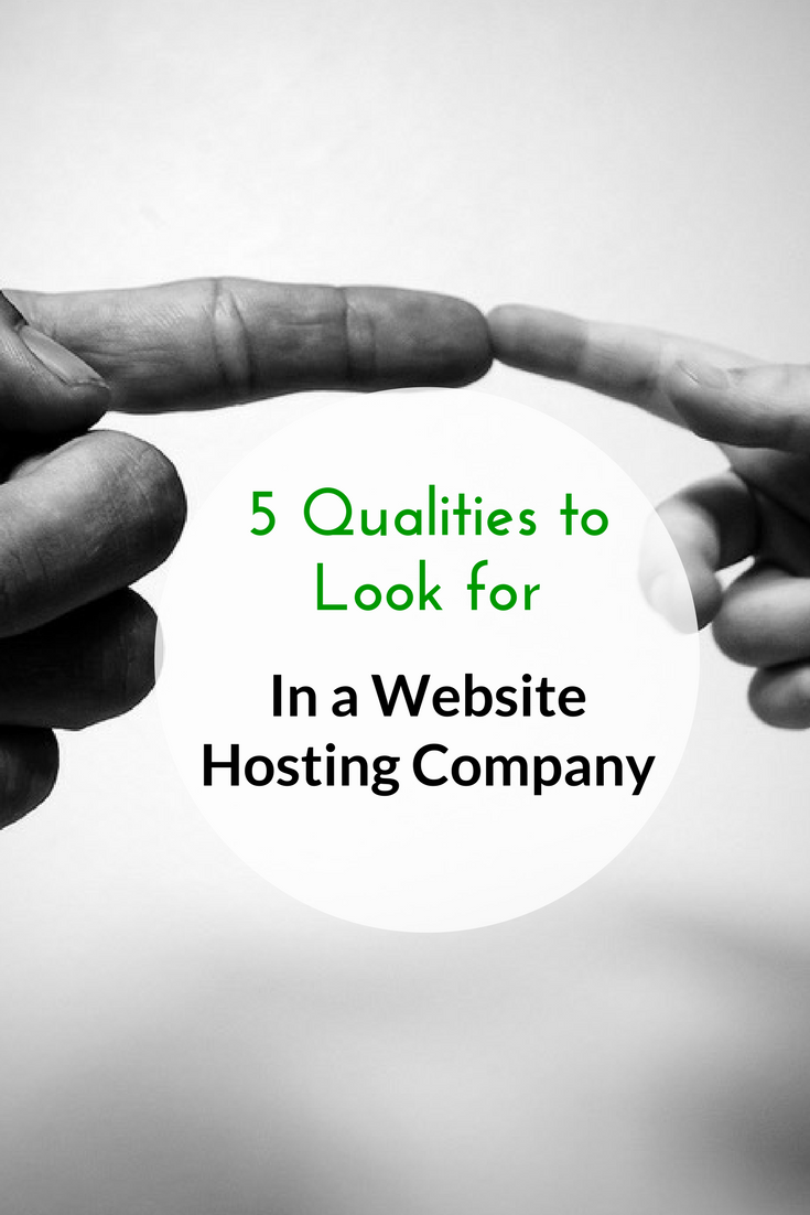 5 Qualities to Look for in a Website Hosting Company