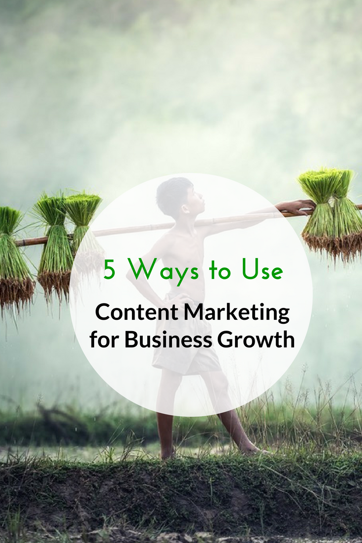 5 Ways to Use Content Marketing for Business Growth