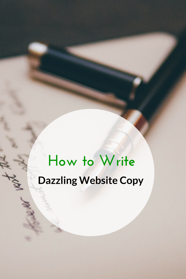 How to Write Dazzling Website Copy
