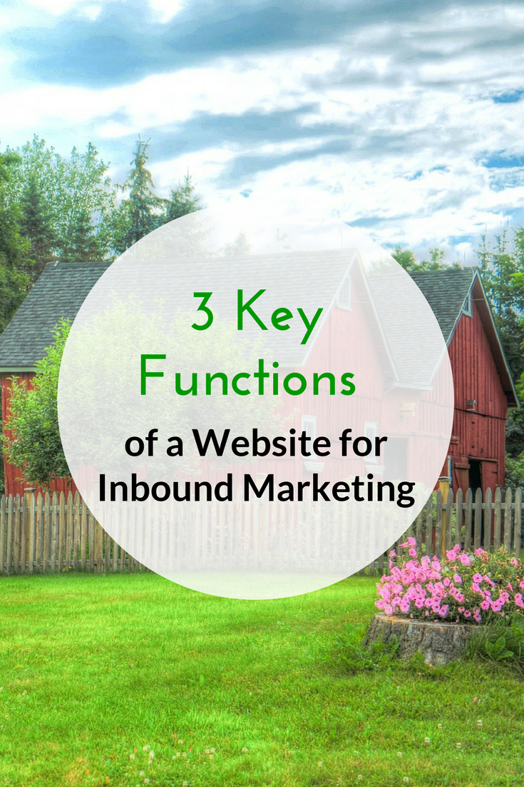 3 Key Functions of a Website for Inbound Marketing