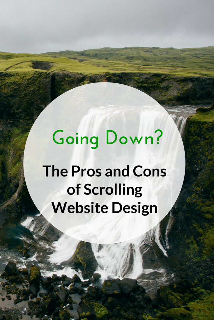 Going down? The pros and cons of scrolling website design