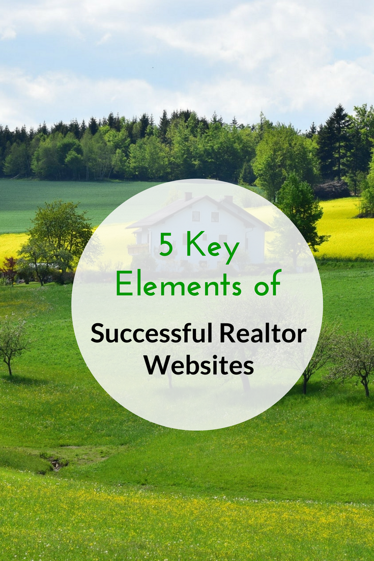 5 Key Elements of Successful Realtor Websites