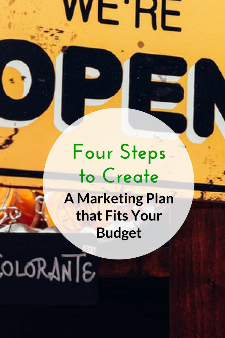 Four Steps to Create a Marketing Plan that Fits Your Budget