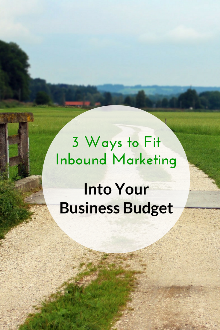 3 Ways to Fit Inbound Markerting Into Your Business Budget