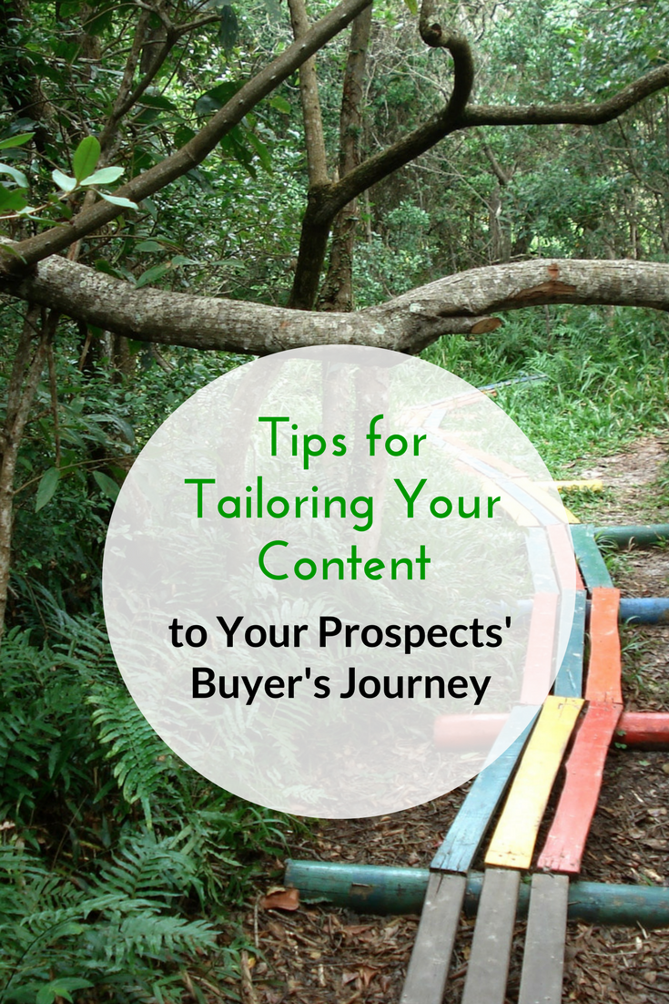 Tips for Tailoring Your Content to Your Prospects' Buyer's Journey