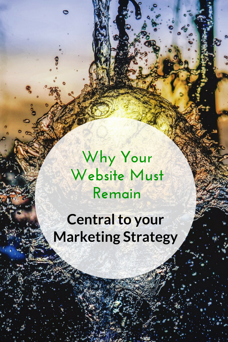 WHy Your Website Must Remain Central to your Marketing Strategy