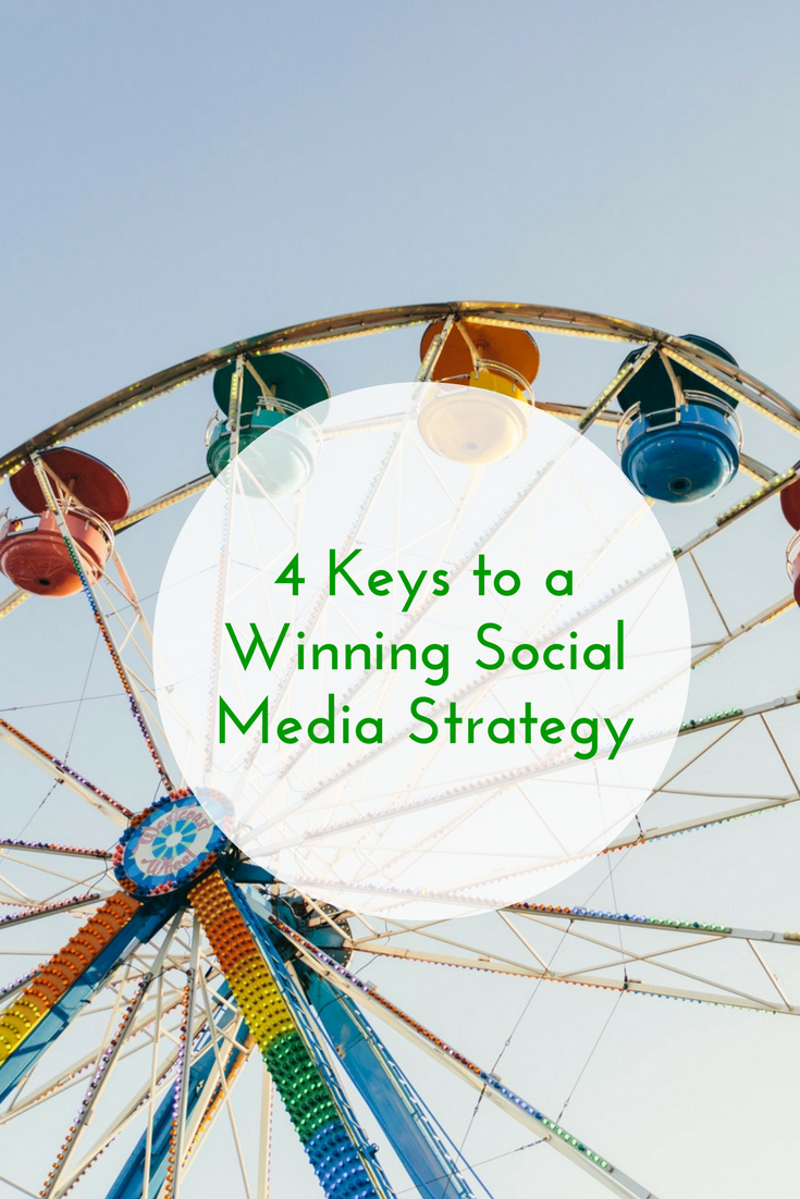 4 Keys to a Winning Social Media Strategy
