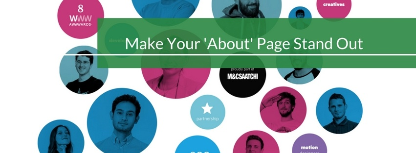 How to Make Your About Page Stand Out
