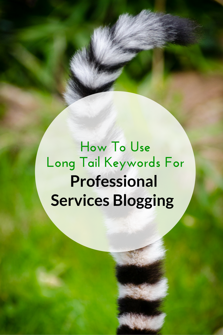 How To Use Long Tail Keywords For Professional Services Blogging