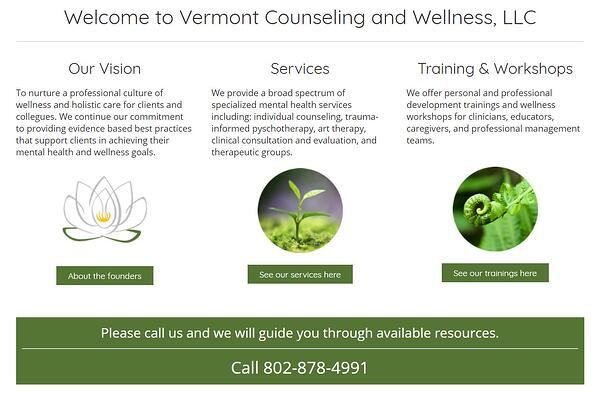 vermont counseling and wellness